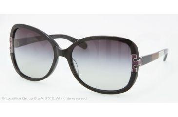 Tory Burch TY7022 Progressive Prescription Sunglasses TY7022-111211-59 - Lens Diameter 59 mm, Frame Color Black Block