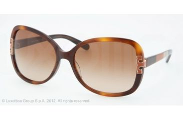 Tory Burch TY7022 Progressive Prescription Sunglasses TY7022-111413-59 - Lens Diameter 59 mm, Frame Color Amber Block