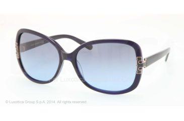 Tory Burch TY7022 Progressive Prescription Sunglasses TY7022-511-17-59 - Lens Diameter 59 mm, Frame Color Navy