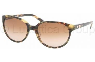 Tory Burch TY7027 Progressive Prescription Sunglasses TY7027-905-13-5618 - Lens Diameter: 56 mm, Frame Color: Vintage Tort