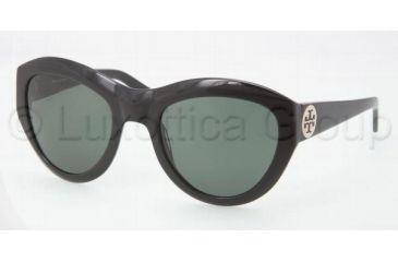 Tory Burch TY7037 Bifocal Prescription Sunglasses TY7037-501-71-5522 - Frame Color Black, Lens Diameter 55 mm