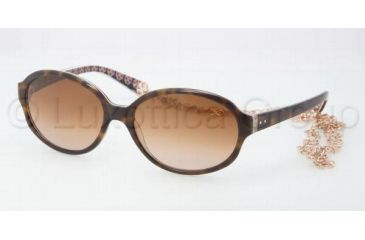 Tory Burch TY7039 Single Vision Prescription Sunglasses TY7039-104313-5816 - Lens Diameter 58 mm, Frame Color Tortoise Orange