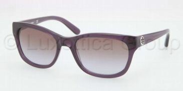 Tory Burch TY7044 TY7044 Progressive Prescription Sunglasses TY7044-110368-5418 - Lens Diameter 54 mm, Frame Color Dusty Purple