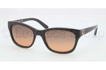 Tory Burch TY7044 TY7044 Progressive Prescription Sunglasses TY7044-501-95-5418 - Lens Diameter 54 mm, Frame Color Black