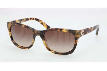 Tory Burch TY7044 TY7044 Progressive Prescription Sunglasses TY7044-504-13-54 - Lens Diameter 54 mm, Frame Color Spotty Tort