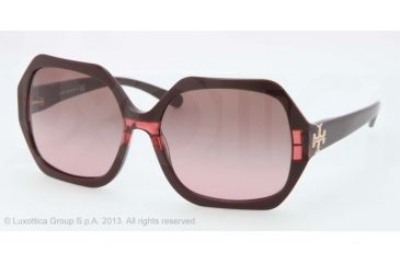 Tory Burch TY7051 TY7051 Progressive Prescription Sunglasses TY7051-112714-58 - Lens Diameter 58 mm, Lens Diameter 58 mm, Frame Color Burgundy Striped