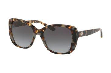 09484cd4a711 Tory Burch TY7114 Sunglasses 17298G-53 - Porcini Tort Frame, Light Grey  Gradient Dark