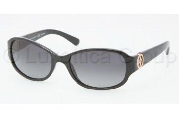 Tory Burch TY9013 TY9013 Sunglasses 501/T3-5617 - Black Frame, Gradient Lenses
