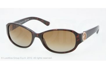 Tory Burch TY9013 TY9013 Progressive Prescription Sunglasses TY9013-510-T5-56 - Lens Diameter 56 mm, Frame Color Dk Tortoise