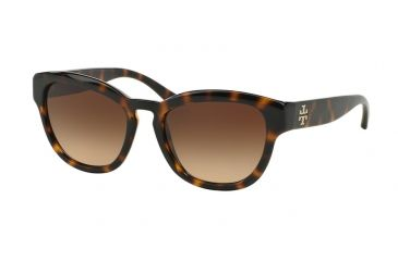 422e14a00657 Tory Burch TY9040 Sunglasses 137813-53 - Dark Tortoise Frame, Brown  Gradient Lenses
