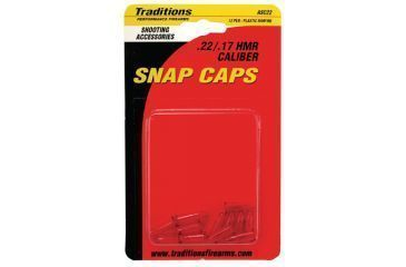Traditions Snap Caps Pistol .22 Long Rifle/.17 HMR 12 Per Package