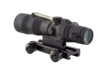 Trijicon ACOG 3x30 Illuminated Riflescope, Amber Horseshoe Dot 7.62x39 Reticle w/ TA51 Mount TA33A-13