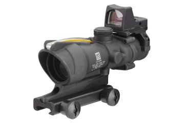 NEW Trijicon ACOG 4x32 Dual Illuminated Amber Crosshair .223 Ballistic Reticle, 3.25MOA RMR Sight WITHOUT Multi-Tool TA31RMR-A