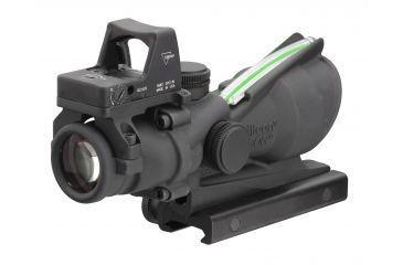 Trijicon ACOG 4x32 Dual Illuminated Green Crosshair .223 Ballistic Reticle, 3.25MOA RMR Sight WITHOUT Multi-Tool TA31RMR-G