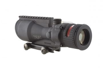 Trijicon ACOG 6x48 Dual Ill Riflescope w/Mount, Red Chevron BAC .50 BMG Reticle