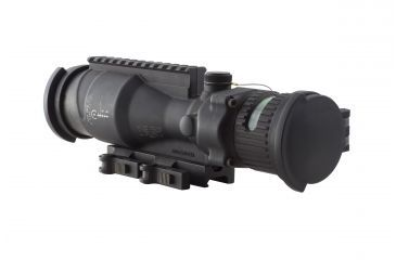 Trijicon ACOG 6x48 Machine Gun Optic, Ill Green Horseshoe/Dot .50 Ball Reticle, GDI Mount, ARD M1913 Rail