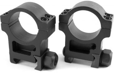 1-Trijicon 1 in. Steel Rings for AccuPoint Riflescope - Extra High TR102 or Standard TR103