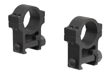 7-Trijicon 1 in. Steel Rings for AccuPoint Riflescope - Extra High TR102 or Standard TR103