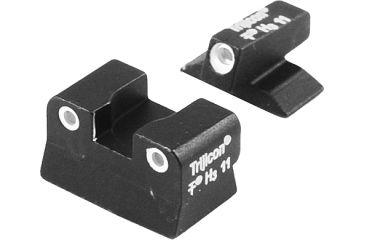 Trijicon 3 Dot Green Front & Yellow Rear Night Sight Set - Beretta Vertec
