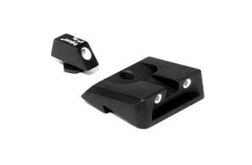 Trijicon 3 Dot Night Sight Set for Sigma 9mm, Green Front, Green Rear SA21
