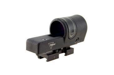 Trijicon 42mm Reflex 6pt5 Moa Amber Dot Reticle Sight Black W Flattop Rx30 14 Back V5