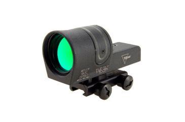 Trijicon 42mm Reflex 6pt5 Moa Amber Dot Reticle Sight Black W Flattop Rx30 14 Front V1