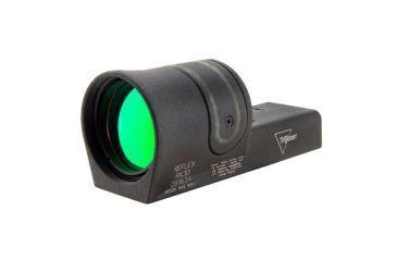 Trijicon 42mm Reflex 6pt5 Moa Amber Dot Sight Black No Mount Rx30 Front V1