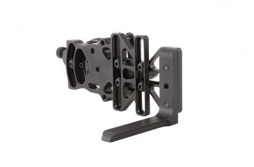 10-Trijicon AccuDial Mount w/Sight Bracket & Rail Adapter, Right/Left Hand