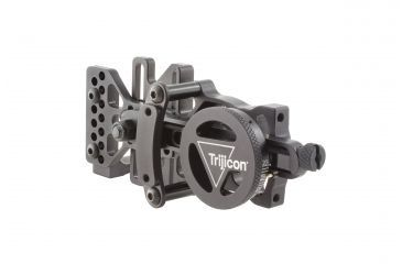4-Trijicon AccuDial Mount w/Sight Bracket & Rail Adapter, Right/Left Hand