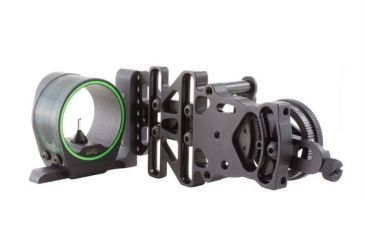 Trijicon AccuPin Bow Sight Green with AccuDial Mount Right Handed