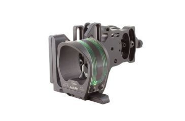 Trijicon BW-50G AccuPin Bow Sight Green with AccuDial Mount Right Handed
