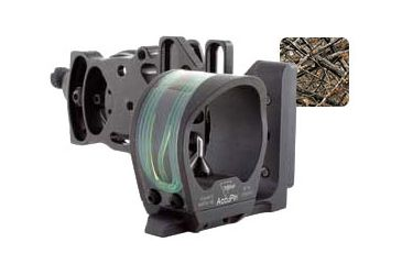 Trijicon AccuPin Bow Sight Green w/Dovetail Base & AccuDial Mt LH- Lost BW51G-LS