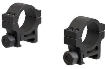 2-Trijicon 1 in. Steel Rings for AccuPoint Riflescope - Extra High TR102 or Standard TR103
