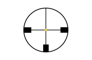 Trijicon AccuPoint 1.-4x24 30mm Tube Riflescope, German #4 Crosshair w/ Amber Dot