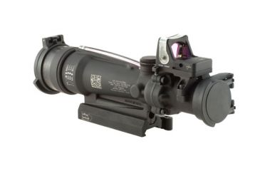 Trijicon ACOG 3.5x35 Scope, Red Horseshoe/Dot M249 Reticle, RMR Sight, LaRue Mount