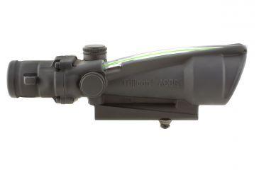Trijicon ACOG 3.5x35 Dual Ill Riflescope w/Mount, Green Donut .223 Ballistic Reticle