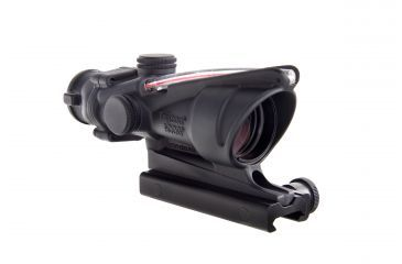 Trijicon ACOG 4x32 Dual Ill Riflescope w/Mount, Red Horseshoe .223 Reticle