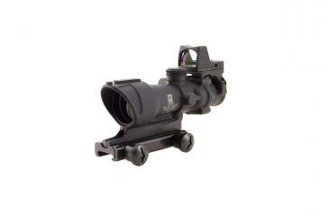 Trijicon ACOG 4x32 Riflescope with Center Illuminated Amber Crosshair and 4.0 MOA RMR Sight