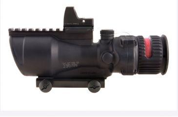 Trijicon ACOG 6x48 Scope w RMR, Red Chevron .500 Reticle TA648RMR-50