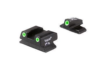 Trijicon Bright Tough 3 Dot Green Front Green Rear Night Sight Set For Beretta Px4 Cd Be11