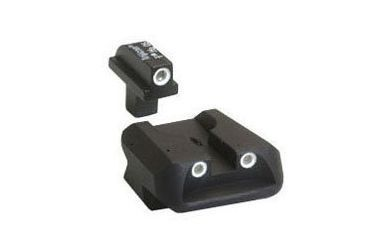 Trijicon Colt 3 Dot Front & Novak Rear Night Sights for Government / Combat Commander CA26