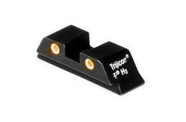 Trijicon Glock Rear Sight With Orange Lamps GL01RO