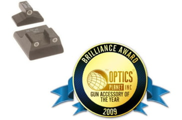 Trijicon HK04 H&K 3 Dot Front & Long Rear Night Sights for P7 - 2009 Brilliance Awards Customer Choice Winner: Gun Accessory of the Year