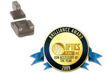 Trijicon Night Sight Set for Remington (front & rear) RE01 - 2009 Brilliance Awards Customer Choice Winner: Gun Accessory of the Year