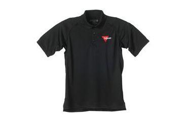 Trijicon Performance Polo Short Sleeve Shirt - XXXL, Black AP22XXXL