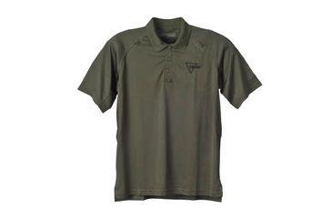 Trijicon Performance Polo Short Sleeve Shirt - Small, Green AP24S