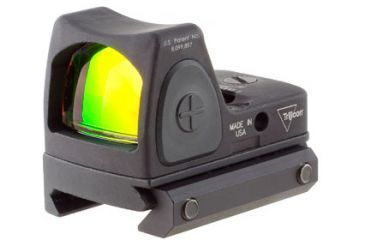 Trijicon Rmr Sight Adjustable Led 3pt25 Moa Red Dot Sight W Rm33 Picatinny Rail Mount Rm06 33 Front V1