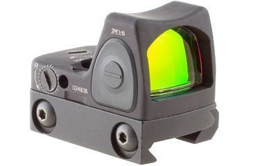 Trijicon Rmr Sight Adjustable Led 3pt25 Moa Red Dot Sight W Rm33 Picatinny Rail Mount Rm06 33 Main