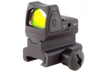 Trijicon Rmr Sight Adjustable Led 3pt25 Moa Red Dot Sight W Rm34 Picatinny Rail Mount Rm06 34 Front V1