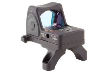Trijicon Rmr Sight Adjustable Led 3pt25 Moa Red Dot Sight W Rm35 Acog Mount Rm06 35 Back V3
